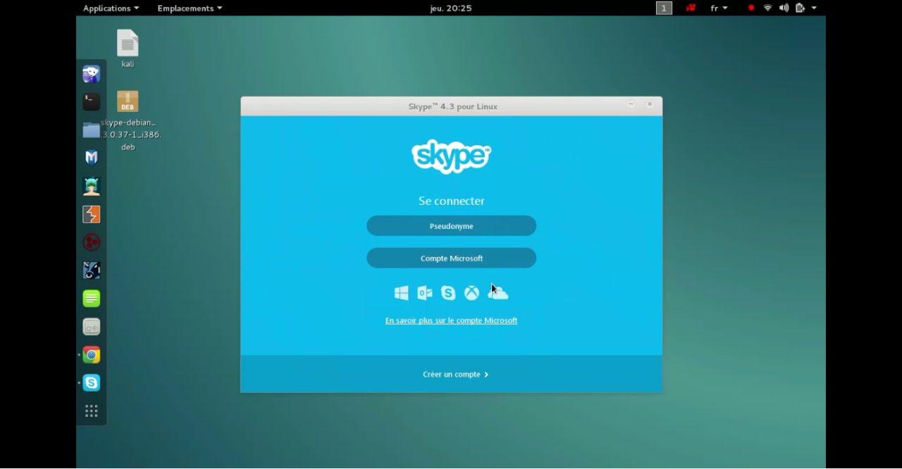 Hướng dẫn cài đặt Skype trên Kali linux