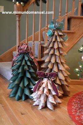 árbol-navideño-papel