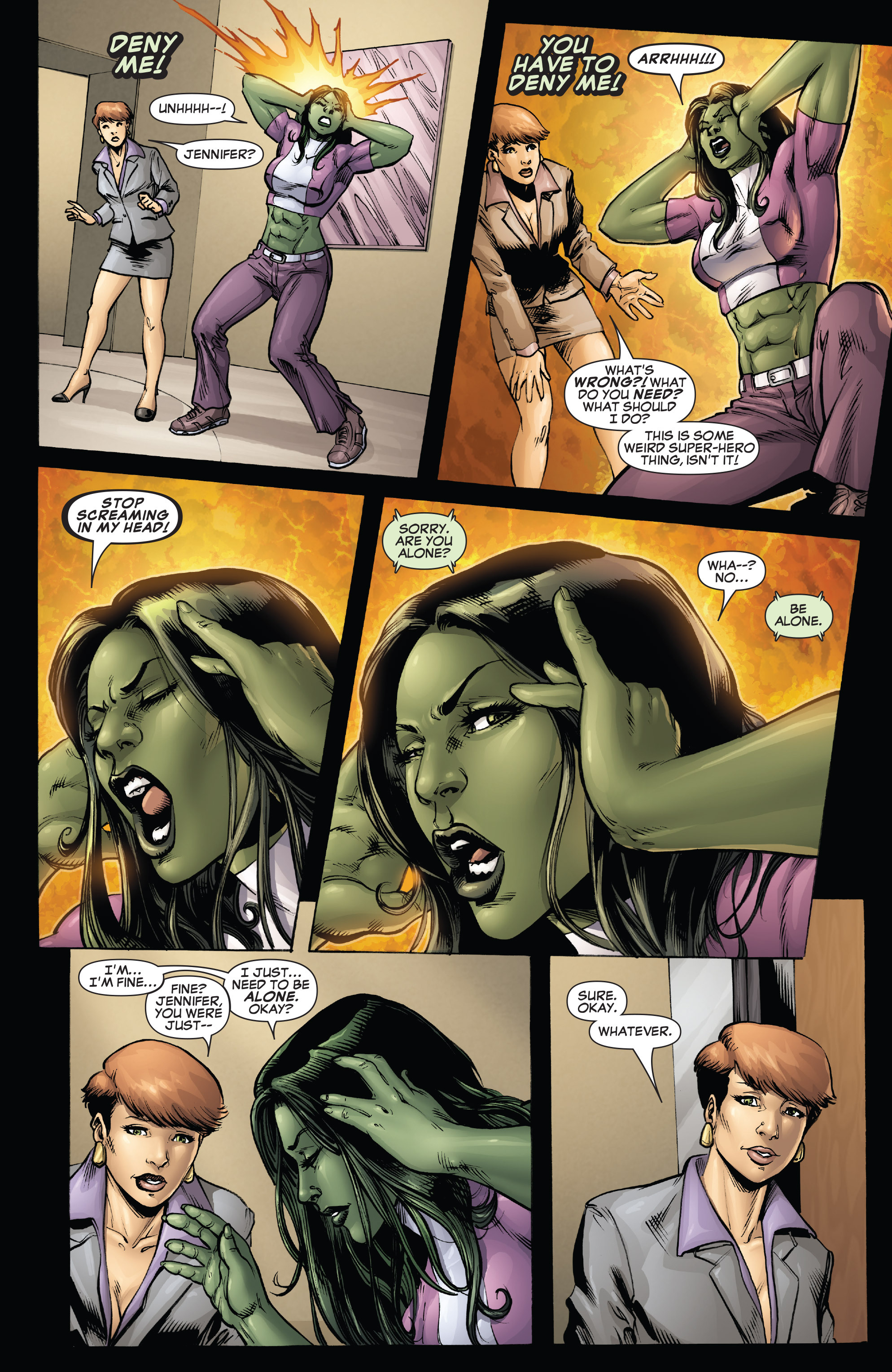 Read online She-Hulk (2005) comic -  Issue #38 - 5