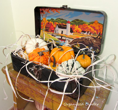 Tool Box & Paint By Number Fall Vignette