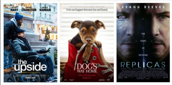 Second Weekend Hollywood Movies out now Cinema January