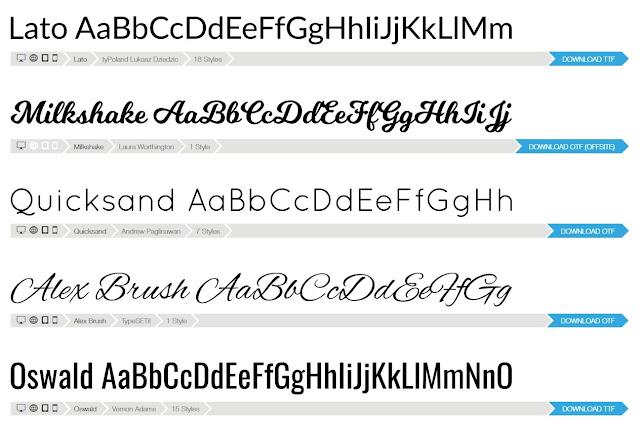 Font Squirrel: font gratuiti e scaricabili