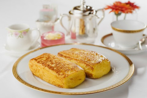 recipe French Toast at at Hotel Okura