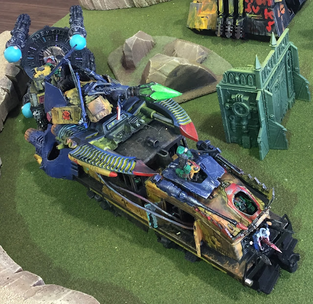 Fork's Eldar Looted Train;Eldar Looting;Eldar Looted Wagon;Ork Train