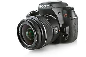 Sony Alpha DSLR Camera