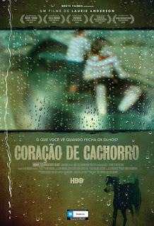 """Poster do filme """"Coração de Cachorro"""""""