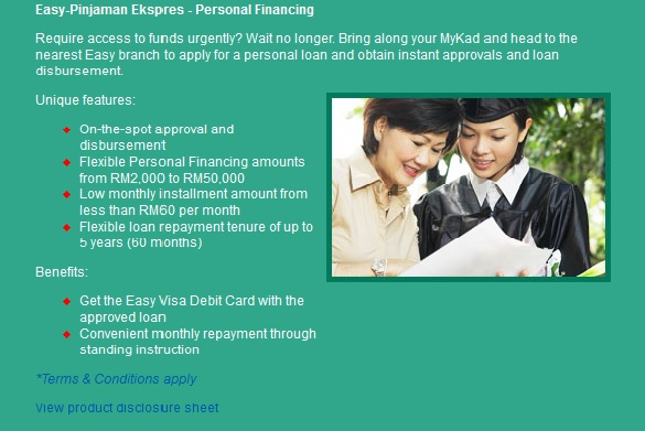 Personal loan dengan easy rhb | COOKING WITH THE PROS