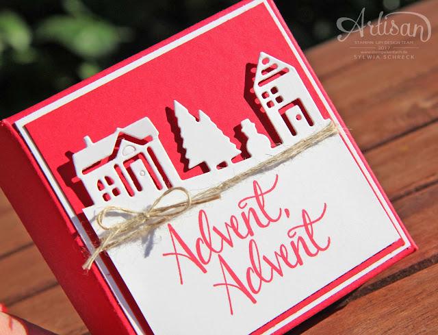 Adventskalender-Stampin Up-Weihnachten daheim