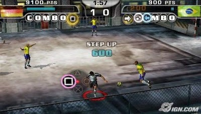 Screenshot FiFA Street 2