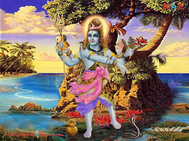 In Dancing Mode Shiv Ji Photo
