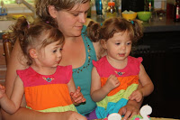 Dr Elizabeth Bagley with her daughters Vital Force Clinic St Louis