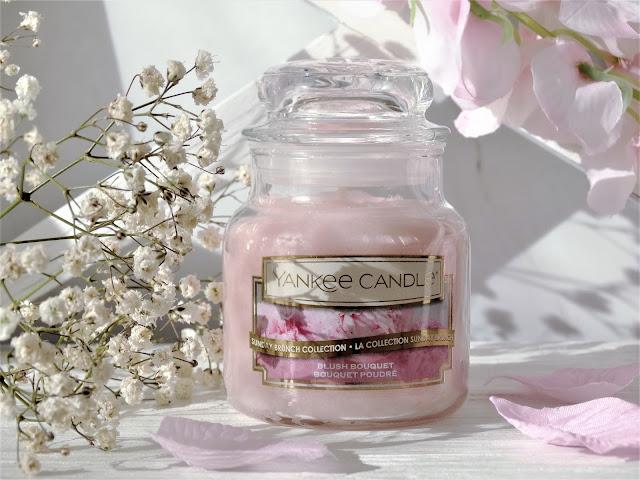 Avis Yankee Candle Sunday Brunch Bouquet Poudre Blush Bouquet