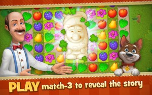 Gardenscapes New Acres MOD APK Unlimited Gold Money