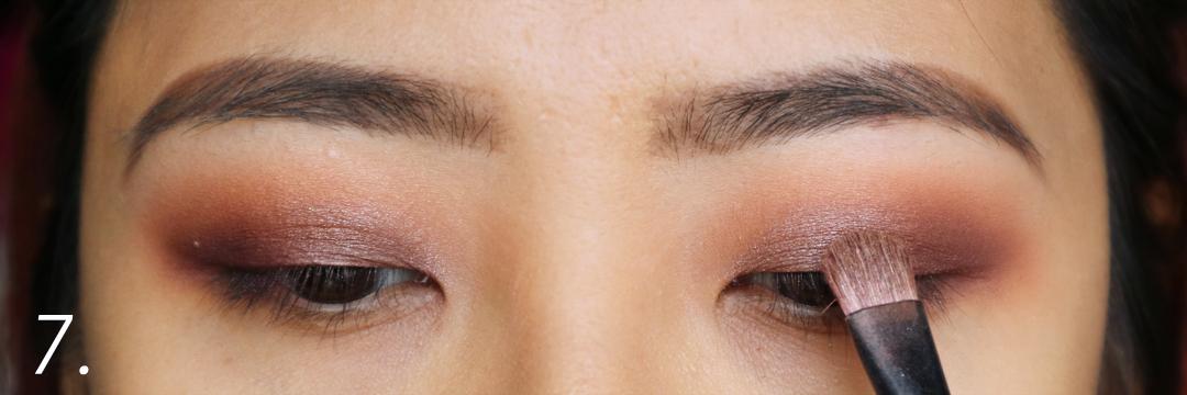 Makeup Geek Prom Night Eyeshadow Purple Smokey Eye Pictorial