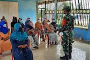 Babinsa Himbau Warga Penerima PKH Patuhi Protokol Kesehatan