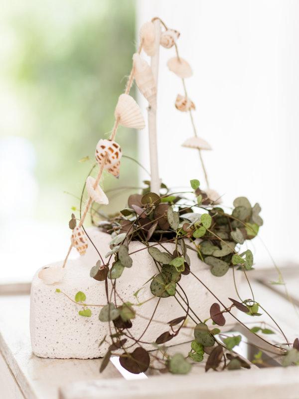 Kreativ mit Porenbeton: Einen Blumentopf in Bootsform selber machen!