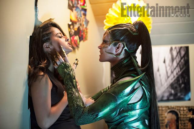 Pósters de personajes y nueva imagen de Rita Repulsa en 'Power Rangers'