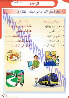 8. Sınıf Arapça Meb Yayınları Ders Kitabı Cevapları Sayfa 21