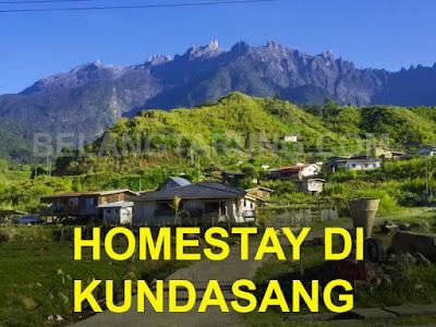 Senarai homestay Sekitar Kundasang Sabah