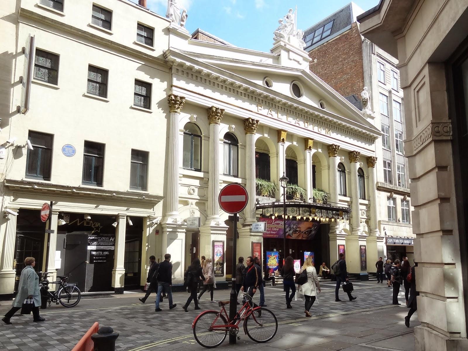 Restaurants Argyll Street London