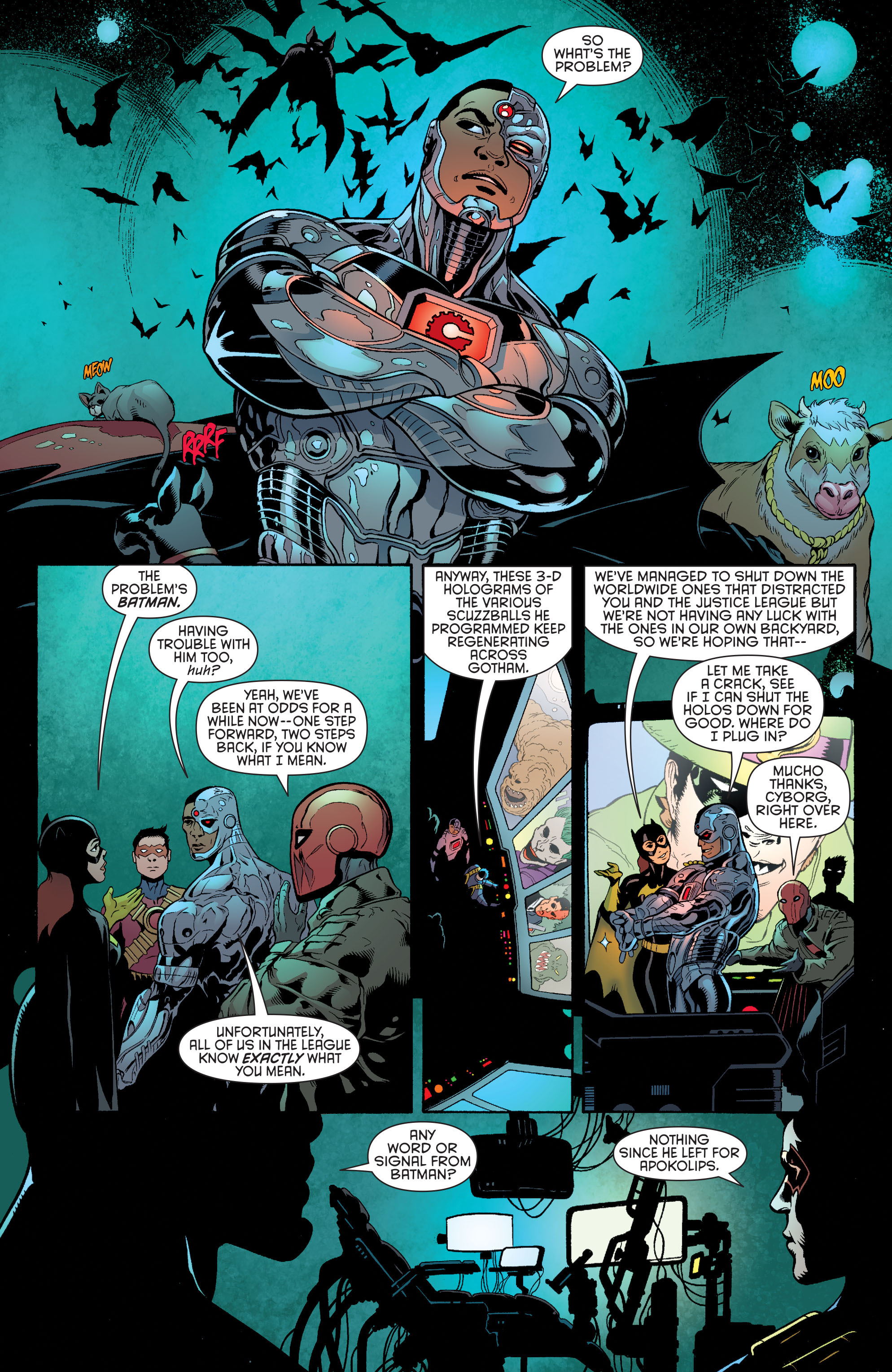 Read online Batman and Robin (2011) comic -  Issue #35 - 12