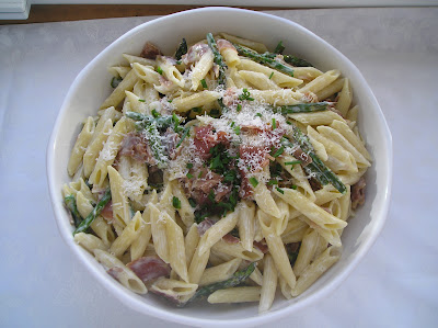 Secret Recipe Club Penne With Asparagus And Prosciutto In