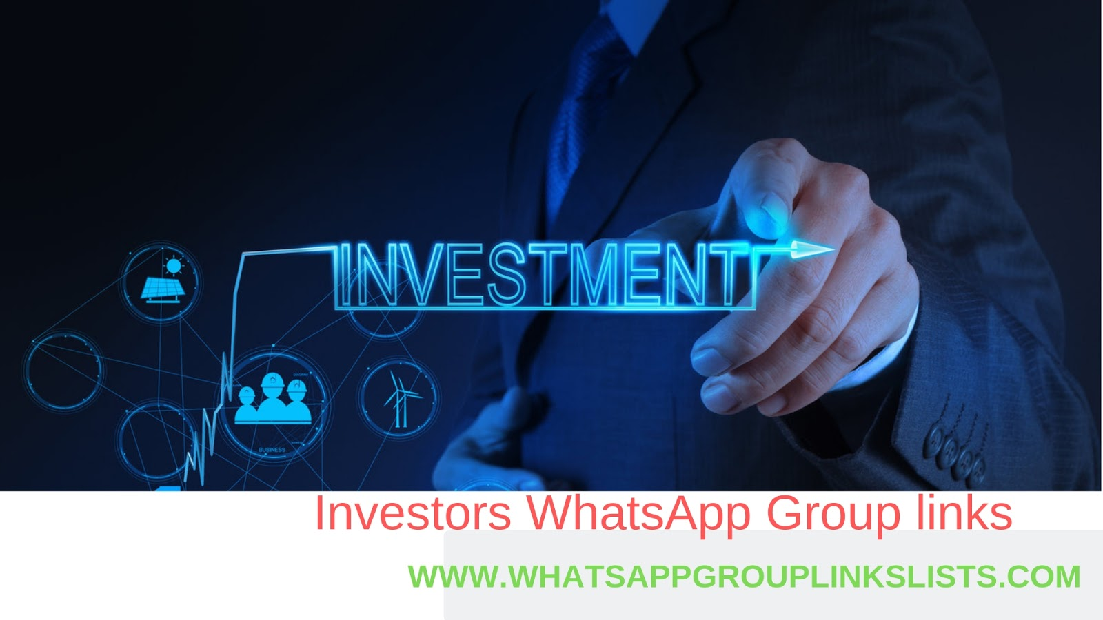 Join Investors WhatsApp Group Links List