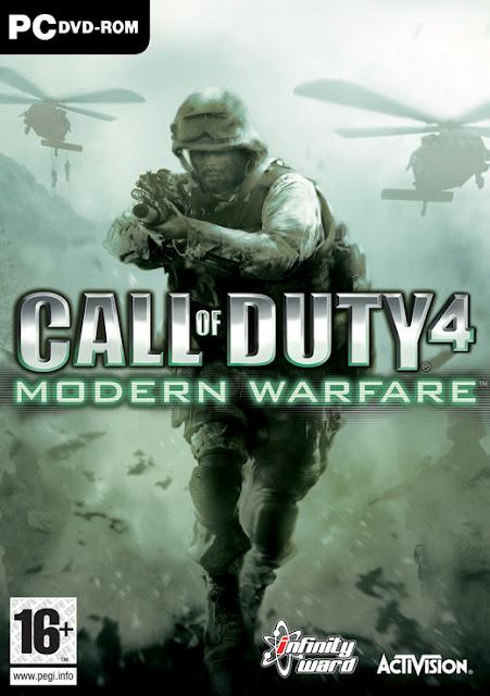 Call of Duty 4 - Modern Warfare PC FULL Portada