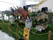 Dinosaurs di AEON Mall Shah Alam
