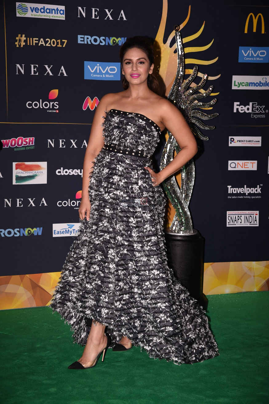 Neha Dhupia Arrives at The 2017 IIFA Rocks at MetLife Stadium