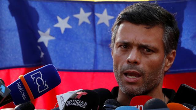 España limitará las actividades políticas de Leopoldo López en la Embajada de Venezuela