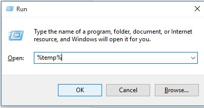 boost your computer speed by erase all temp files