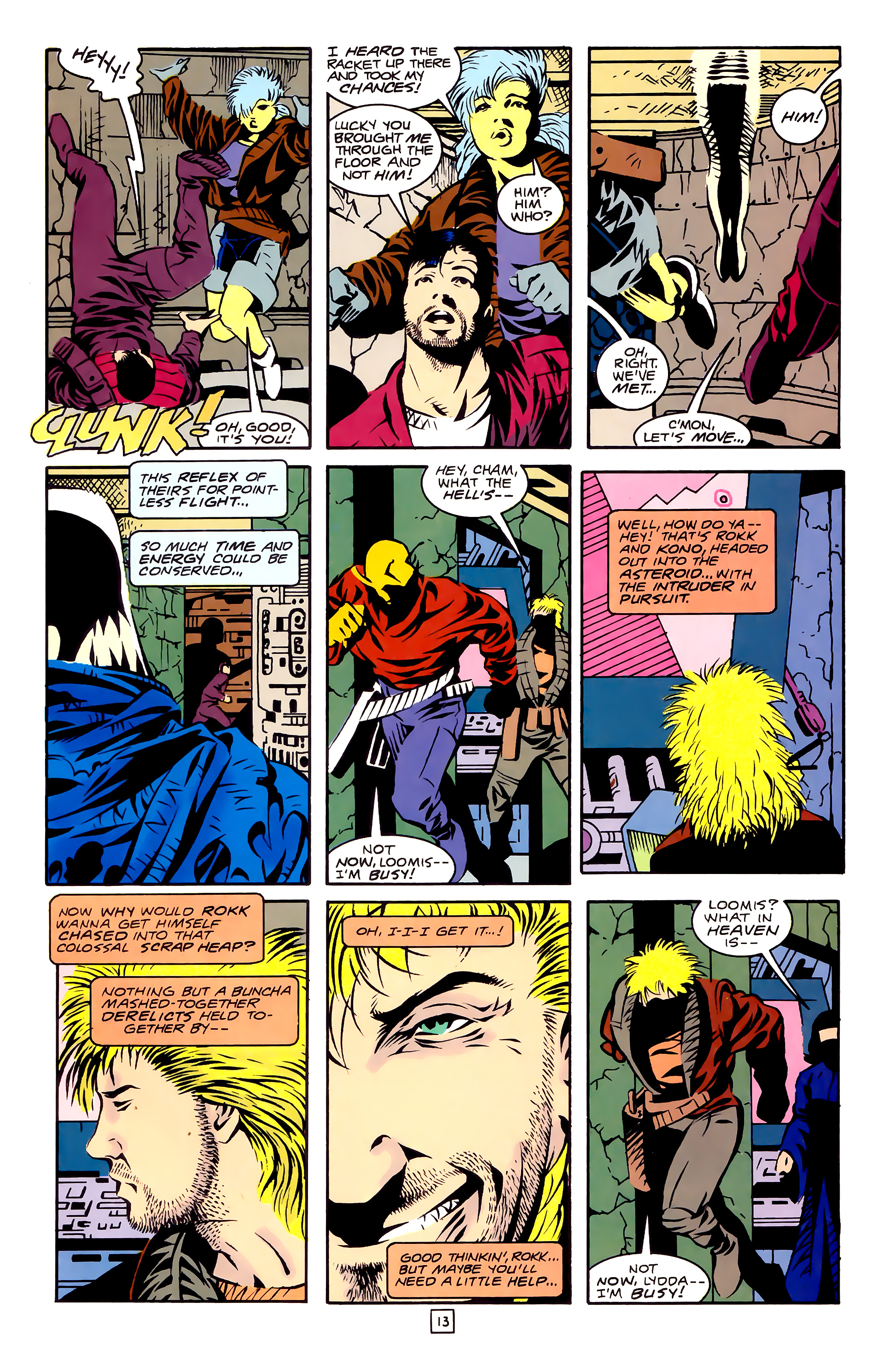 Legion of Super-Heroes (1989) 27 Page 13