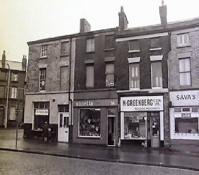Walton Road At The Bottom Of Kirkdale Vale In 1968