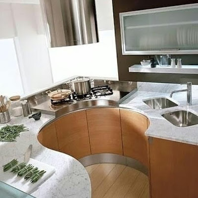 desain dapur kecil sederhana kitcen set