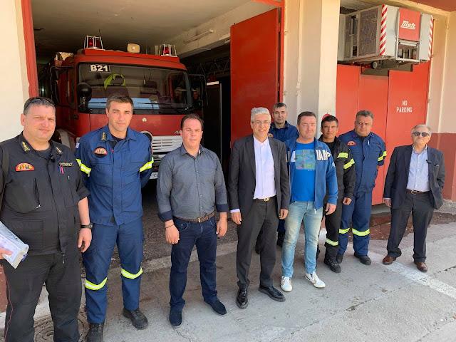 Αργολίδα: Επίσκεψη του υποψήφιου ευρωβουλευτή της ΝΔ Νίκου Γιαννή