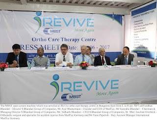 iRevive – A Unique Ortho-care Therapy Center Opens in Bangalore