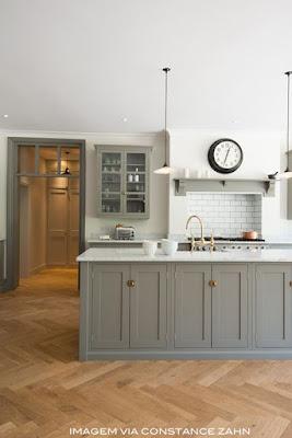 idéias cozinha cinza