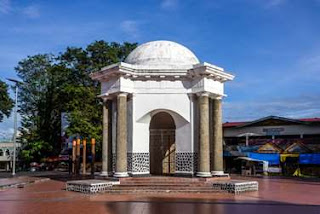 parr and hamilton monuments bengkulu