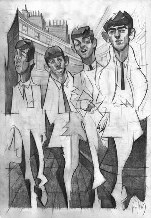 """""""The Beatles"""" por Julio Ibarra"""