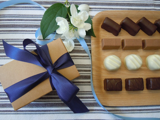 DIY: comment emballer vos chocolats - le ballotin