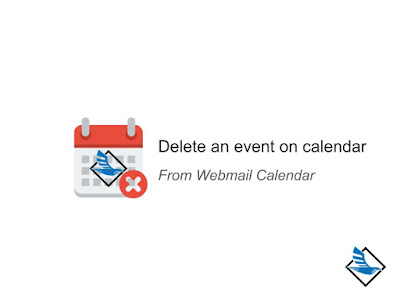 Delete an event on calendar