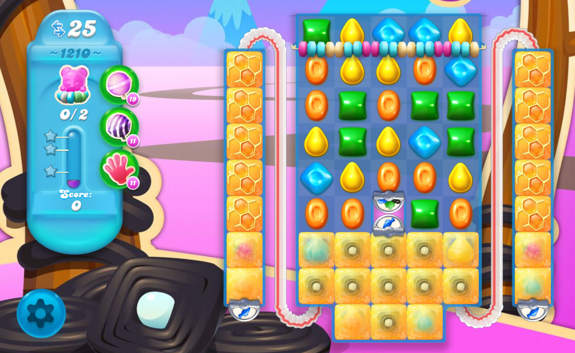 Candy Crush Soda Saga level 1210