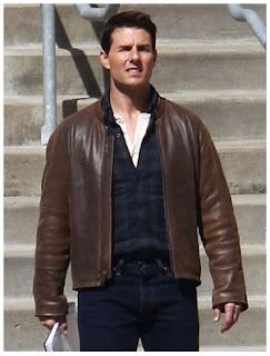 Gambar Jaket Kulit Tom Cruise