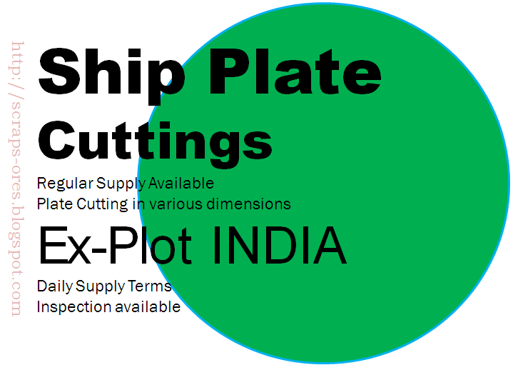 Ship Cutting Plate | HMS -1 Metal Scrap | IRON METAL SCRAP