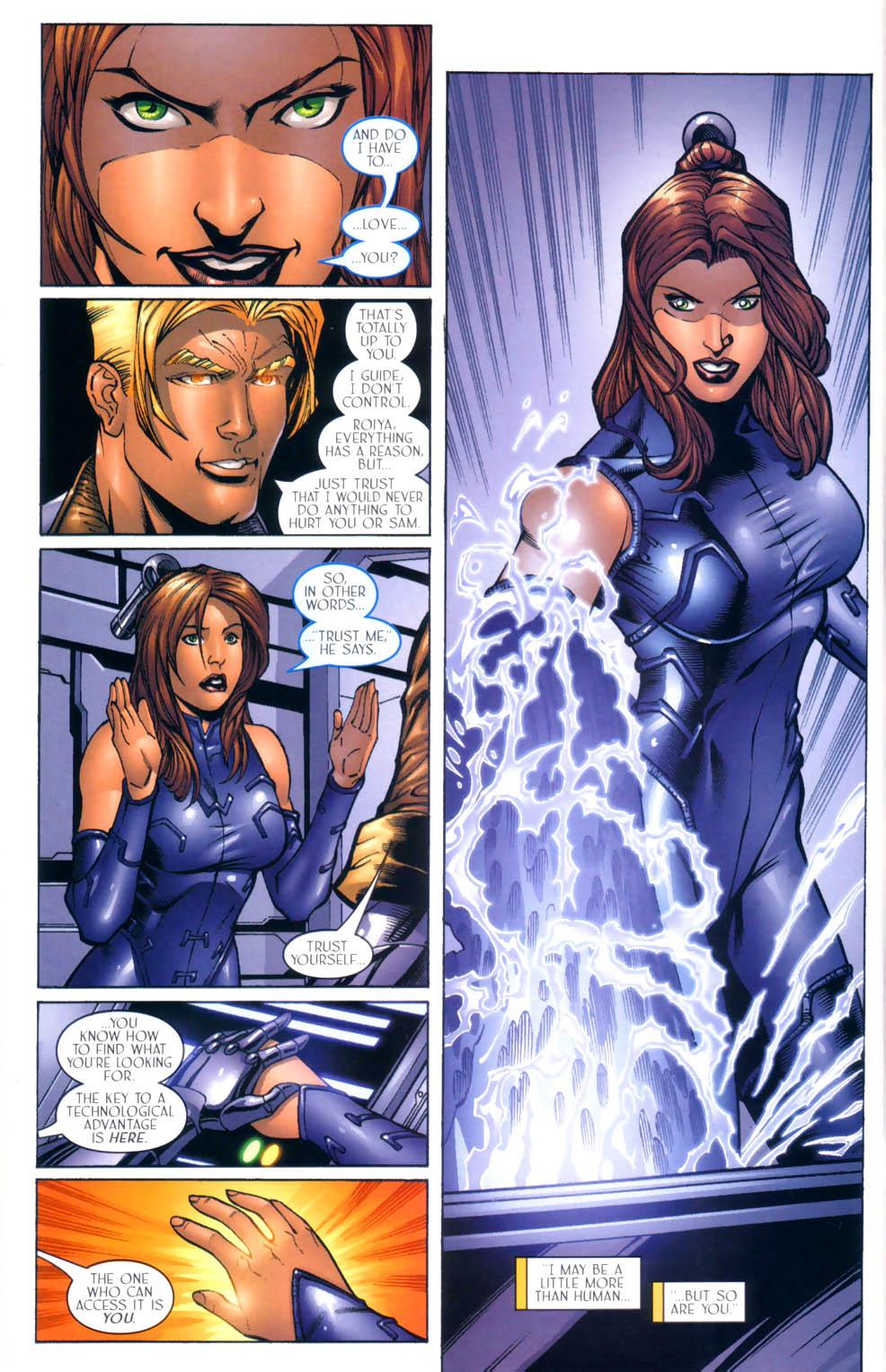 Read online Sigil (2000) comic -  Issue #9 - 19
