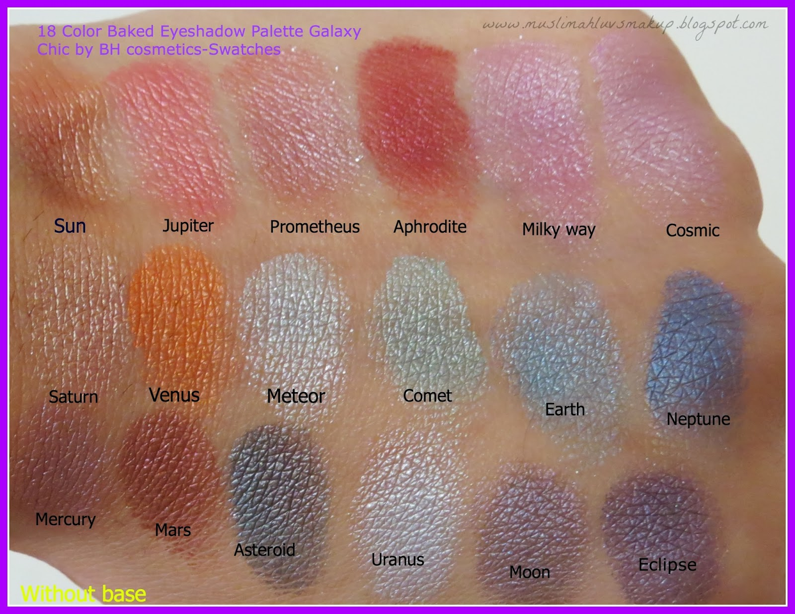 BH COsmetics x ItsMyRayeRaye Eyeshadow, Highlighter & Contour Palette by BH Cosmetics #13