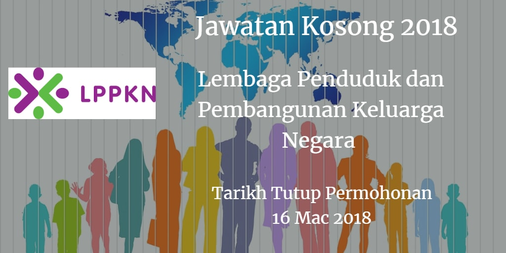 Jawatan Kosong LPPKN 16 Mac 2018