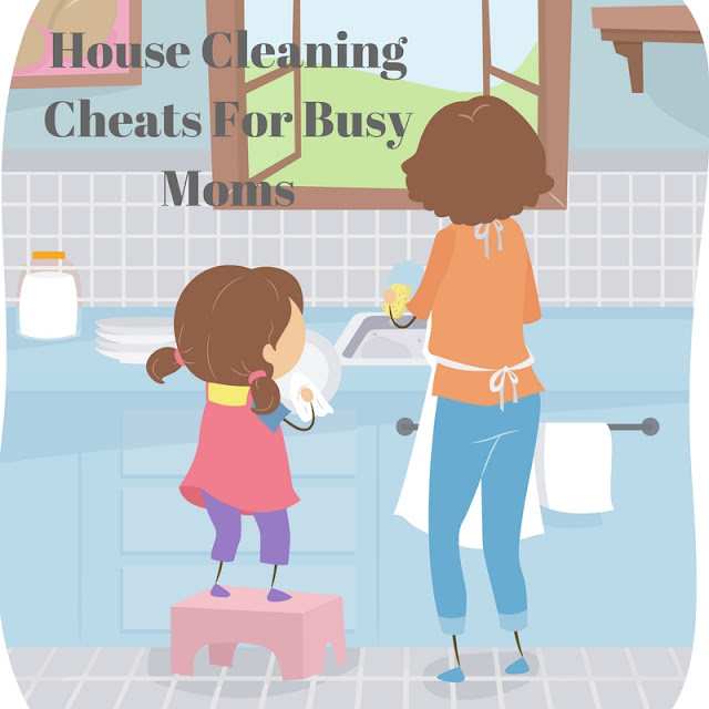 Cheaters Way To Clean House For Busy Moms