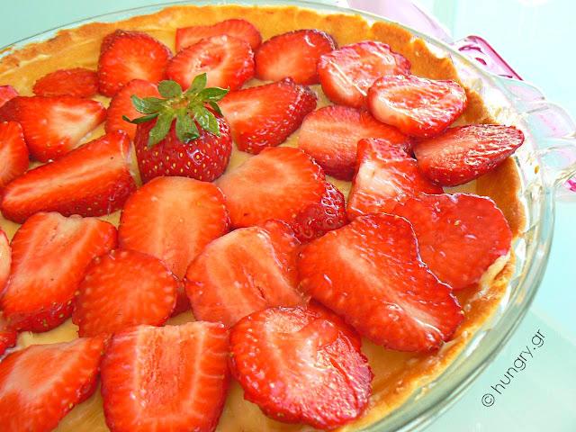 Τάρτα Φράουλας